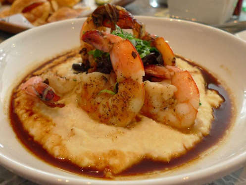 Slide 40 of 51: SOUTH CAROLINA: Savor a steaming bowl of shrimp and grits, a dish locals love so much it's served from breakfast to dinner.