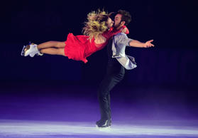 Gabriella Papadakis and Guillaume Cizeron from France with 166.66 points