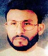 This undated file photo shows Abu Zubaydah.