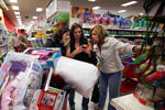 Shoppers at a Target store in South Portland, Maine.