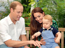 Prince George's adorable Christmas pictures