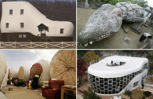 Ever thought about living differently? Here's a look at some unusual homes around the world.
