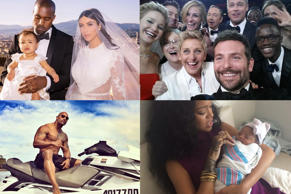 Revealed: best celeb Twitter pics of 2014