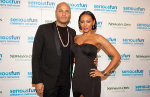 Melanie B and husband Stephen Belafonte