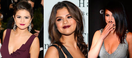 Los looks beauty de Selena Gómez