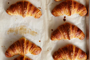 When you make your own croissants you can eat them fresh from the oven.