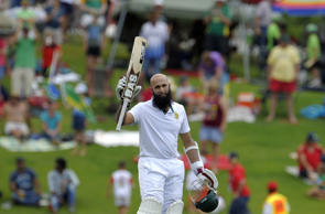 Hashim Amla hits double ton