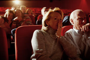 PEOPLE IN MOVIE THEATER(c) Ghislain & Marie David de Lossy Getty Images