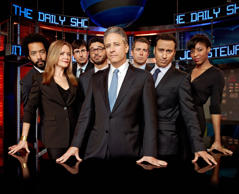 Jon Stewart and 'The Daily Show' cast