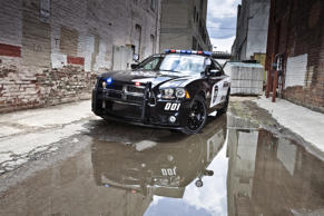 "Okay, that first slide might have been slightly tongue in cheek. While our revered RCMP officers do indeed get their fame from the vivid red uniforms and excellent horsemanship, the rest of Canada's police use more conventional means of transportation. Assuming of course you count a 5.7L hemi-powered four-door muscle car ""conventional"". These Chargers are built here and used here to keep us all in check."