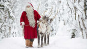 Lapland, the northernmost region of Finland, is known for its herds of reindeer and spectacular northern lights displays in the winter.