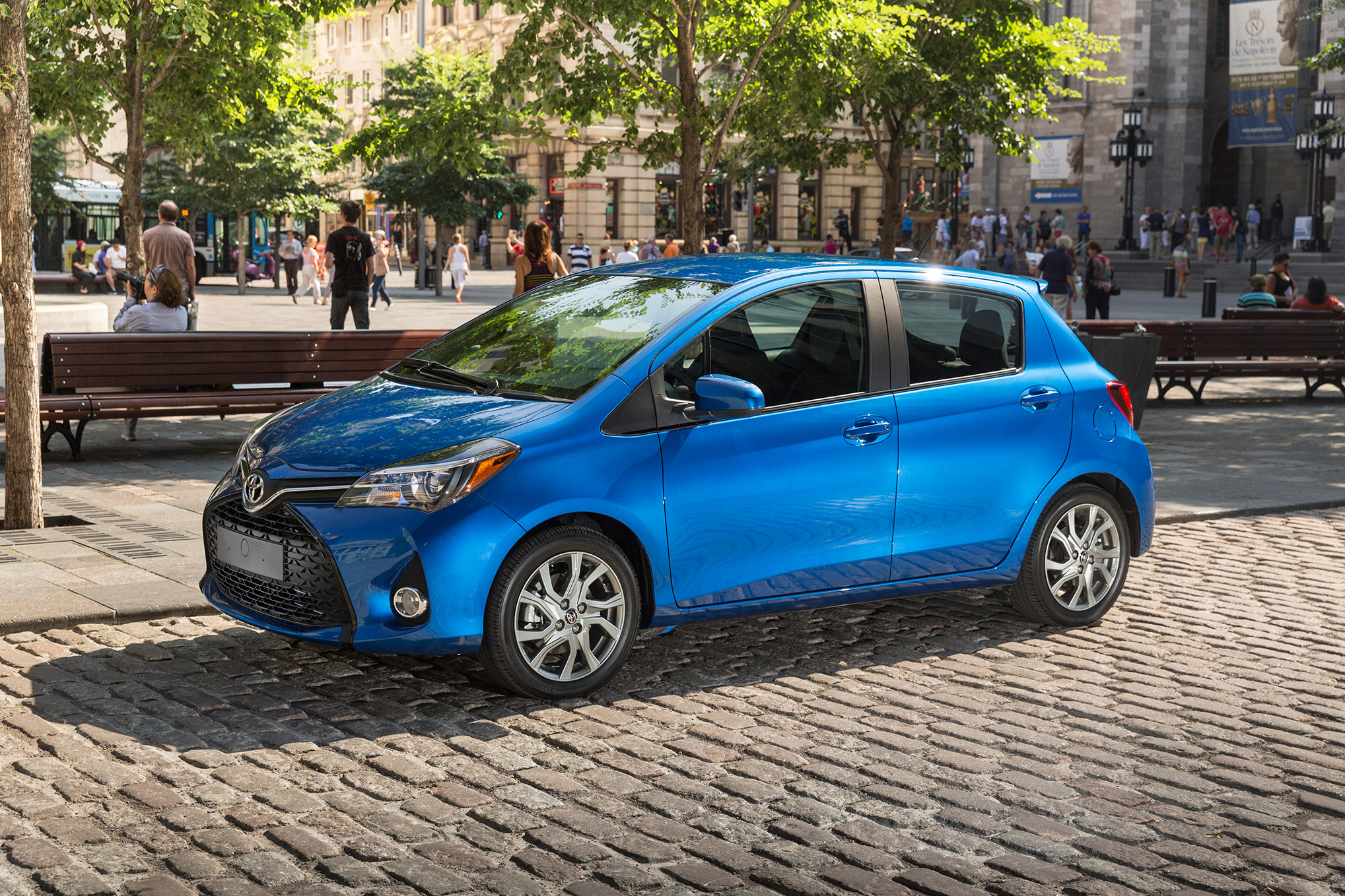 Most and least reliable small cars for Interieur yaris 2015
