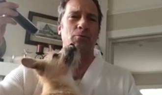 Mike Rowe Sings for Charity