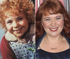 Annie: Then and now