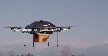 File photo: Amazon drone