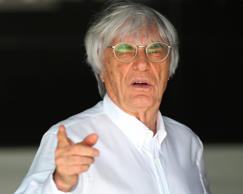 Chief executive of the Formula One Bernie Ecclestone