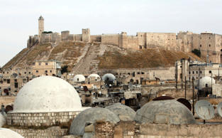 Aleppo castle, UN cultural body UNESCO had said that it is concerned for fate of six World Heritage sites including the old cities of Damascus, Aleppo and Bosra.
