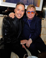 British pop superstar Elton John and his long-time partner David Furnish.