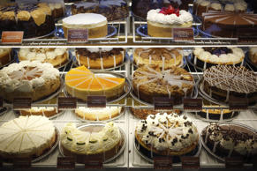 Cheesecakes at The Cheesecake Factory