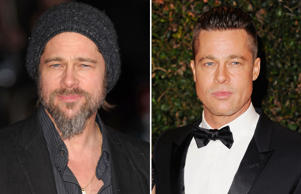 Hollywood stars have often sported bearded looks in movies or at events. Here's a look ...