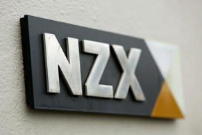 File: A general view of NZX signage.
