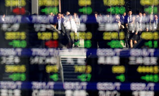 Asia heartened by Wall Street high, dollar in demand