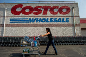 Shoppers at a Costco Wholesale store in Hackensack, U.S., on Wednesday, Sept. 11, 2013.