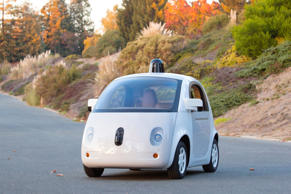 Google car prototype.