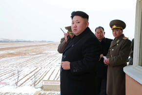 North Korean leader Kim Jong Un in Pyongyang, December 8, 2014.