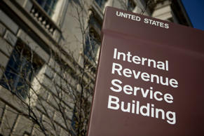 The Internal Revenue Service headquarters building in Washington, DC