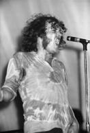 Famous for his raspy voice, Cocker's wild hip gyrations on stage was a signature move.
