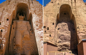 The Bamiyan Valley is known for eight separate sites within the Valley, including two giant statues of Buddha measuring 55m and 38m in height. In 2001, Taliban used dynamite, artillery and anti-aircraft guns to destroy the statues amidst widespread international condemnation.
