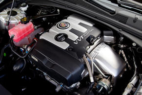 Cadillac VVT direct injection engine