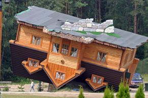 Upside Down House, Poland