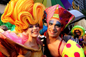 Australia's most spectacular and joyous LGBQT celebrations initially began as a defiant civil rights march in 1978. The Mardi Gras, now a proud celebration of diversity, begins at the end of February and culminates with the parade in early March (March 8).