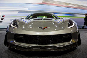The Corvette ZO6 in New York City.