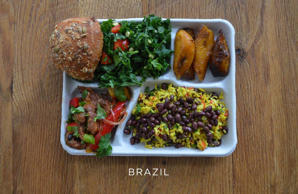 This is what school lunches look like around the world