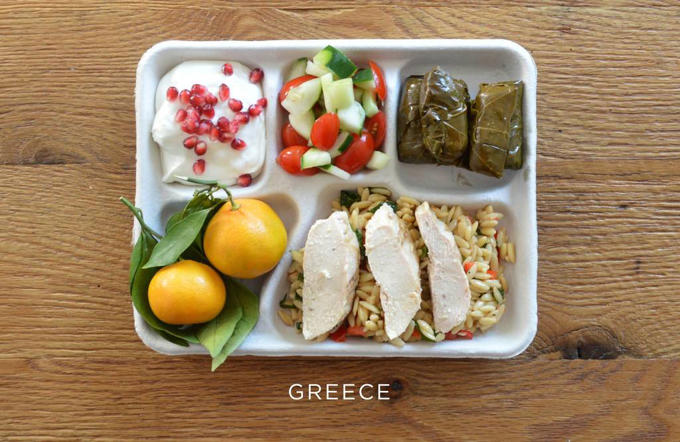 Here's what lunches around the world look like