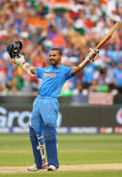 Dhawan's ton & more match pics