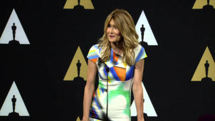 Oscars Nominee Luncheon 2015: Laura Dern Backstage Interview