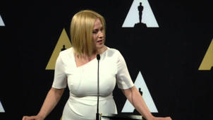 Oscars Nominee Luncheon 2015: Patricia Arquette Backstage Interview