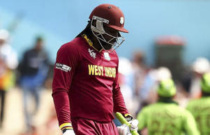Jason Holder was not too worried about Chris Gayle's slump at the top of the order.