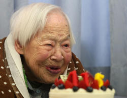 Misao Okawa from Japan turned 117 on March 5, making her the oldest person alive at the time as recognized by the Gerontology Research Group* or Guinness World Records. Here is a list of super-centenarian (aged over 110 years) and read about the secret of their long life.
