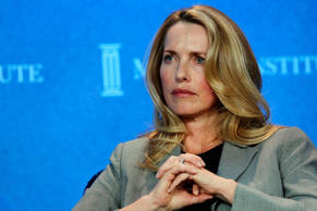 Laurene Powell Jobs, Founder and Chair, Emerson Collective, and widow of Apple founder Steve Jobs, speaks at the annual Milken Institute Global Conference in Beverly Hills, California, U.S., on Monday, April 29, 2013.