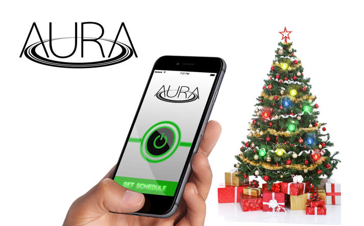 Powered by Aura, a US based company, has solved our wire woes by developing a magnetic ring that will transmit power to LED lights - which will act as Christmas lights, when activated.