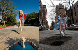 Surreal potholes