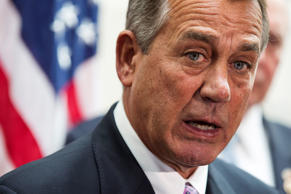 House Speaker John Boehner in Washington, February 25, 2015.