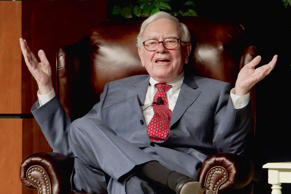 In this Nov. 14, 2011, file photo, billionaire investor Warren Buffett speaks in Omaha, Neb., at an event to raise money for the Girls Inc., charity organization.