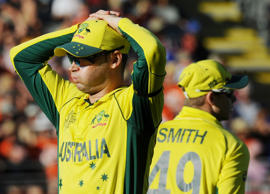 """My shot selection was poor,"" the Australian captain said."