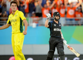 New Zealand maintained their perfect World Cup record as they beat co-hosts Australia by one wicket in an incredible game at Eden Park.